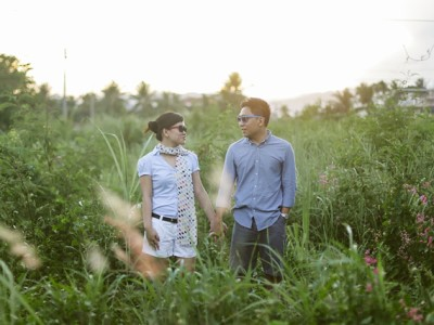 Richard & Ethel | Sunset Engagement