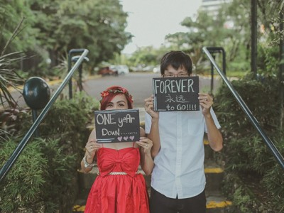 Seven and Pach | First Wedding Anniversary