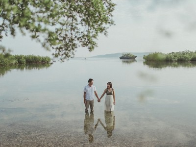 Igene and Ailyn | Engagement in Moalboal, Cebu