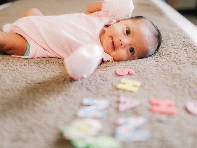 Shan | A Month and a Day | Cebu City Baby Photographer