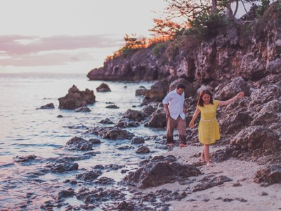 Warren and Rhesel's Pre-Wedding in Malapascua Island, Cebu